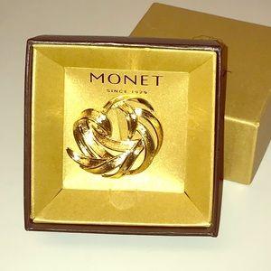 Monet Jewelry - Monet Brooch / Pin - New in Box